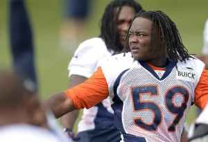 Danny Trevathan has two teams trying to get his services