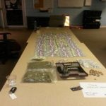 Packers NT was busted with 357 grams of Weed, a 9mm and 190k cash (Photo)
