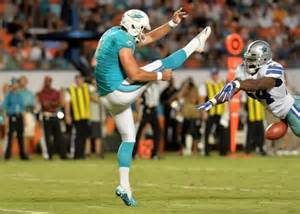 Miami Dolphins have released Pro Bowl punter Brandon Fields