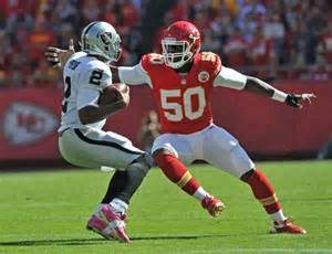 Justin Houston is a very rich man after signing a huge deal