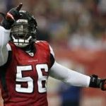 Falcons linebacker Sean Weatherspoon is unlikely to return to the team