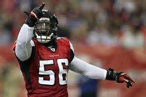 Sean Weatherspoon is flying in to Atlanta to meet with the Falcons