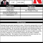 NFL Draft Battle of the Backs; Duke Johnson vs. Ameer Abdullah