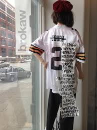 3631d04dc Browns infamous QB jersey is being retired in Cleveland. by. Damond Talbot   June 21