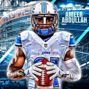 Lions have lost Ameer Abdullah for the season