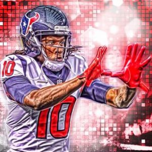 DeAndre Hopkins has eclipsed 2000 plus yards already in his early NFL career.