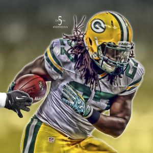 Eddie Lacy of the Packers has lost 15-18 pounds