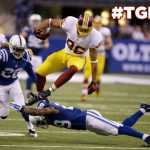 Redskins tight end Jordan Reed is being checked by doctors for knee soreness