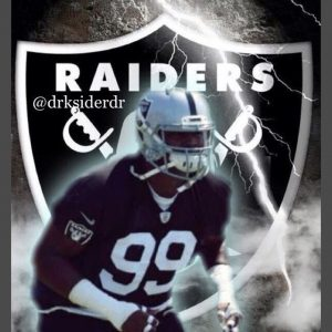 Raiders DT Orr was one of the players involved in a skirmish today