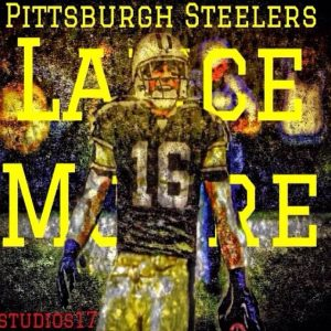 Lance Moore was upset that he was inactive for the playoffs for the Steelers