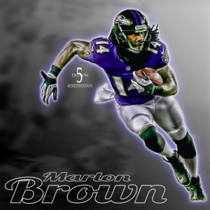 Marlon Brown has been cut by the Broncos