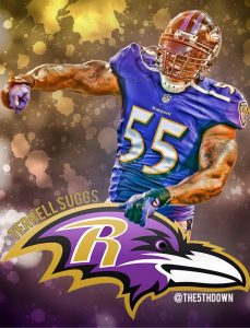 Terrell Suggs is done for the season for the Ravens