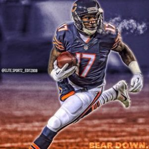 Bears are expected to Franchise Alshon Jeffery if they are not able to sign him to a long term deal