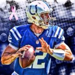 Andrew Luck wants to beat the Patriots and get to the Super Bowl
