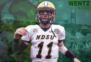 The Los Angeles Rams are targeting Carson Wentz