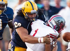 Kansas City Chiefs have signed former Texas A&M Commerce defensive tackle Charles Tuaau