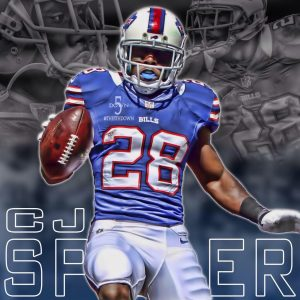 Saints newly acquired running back C.J. Spiller need surgery