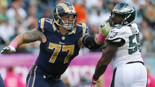 Jake Long is on his second free agent visit today. This is with the Atlanta Falcons