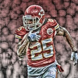 Jamaal Charles runs all over the Packers this week and the Chiefs beat the Packers at home
