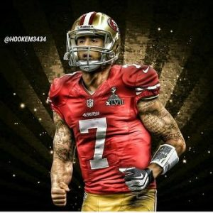 Colin Kaepernick will be on the 49ers roster when April 1st comes around according to the team's GM
