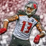 Buccaneers wide out Mike Evans had six dropped balls in one game….OUCH