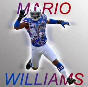 Bills have cut defensive end Mario Williams