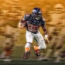 Broncos running back C.J. Anderson showed up to camp 22 pounds lighter