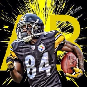 Steelers wide out Antonio Brown will be on Dancing with the Stars
