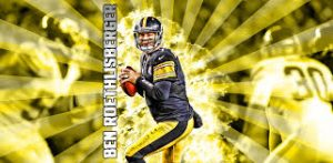 Steelers QB Big Ben Roethlisberger has been carted off the field
