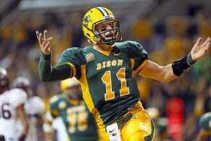 Carson Wentz is the best small school quarterback in all of college football