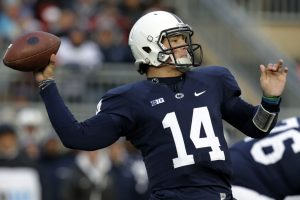Christian Hackenberg of Penn State is rising up draft boards