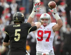 Joey Bosa of Ohio State University could be the first overall pick