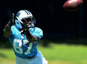 Panthers wide receiver Stephen Hill was arrested for drug paraphernalia