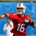 Bills are expected to start Matt Cassel against the Panthers next week