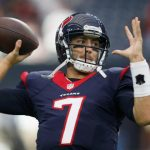 Brian Hoyer has been named starting quarterback for the Texans