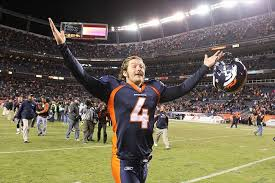 Britton Colquitt of the Broncos has restructured his deal