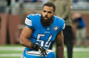 DeAndre Levy is not worried about anything but himself