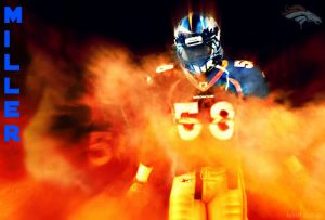 Von Miller and the Broncos are reportedly four million dollars apart