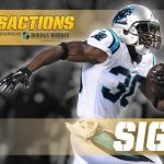 Steelers sign running back Jordan Todman