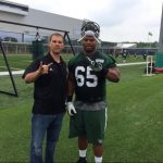 Jets have released small school defensive tackle Deon Simon