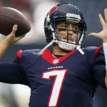 Brian Hoyer feels he let the entire Texans organization down