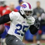 Bills could be without LeSean McCoy for the next month