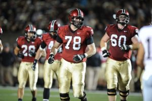 Cole Toner of Harvard is a huge mauler with an awesome personality
