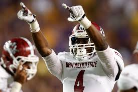 New Mexico State University cornerback Winston Rose is a fun player to watch