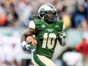 Former Colorado State running back Dee Hart is just one of many players that declared early and was not drafted. Hart is currently out of football.