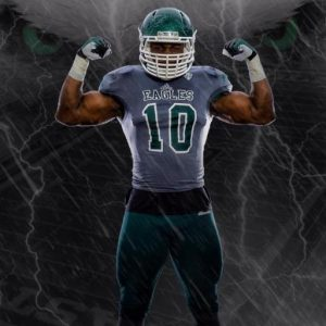 Eastern Michigan linebacker Great Ibe walked on at EMU and he ended up being a stud
