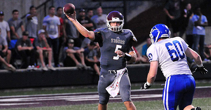 Former Kentucky QB Jacob Russell was a stud for Campbellsville this season