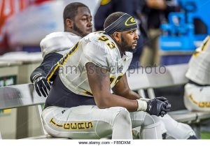 Grambling State University defensive end Jevonta Williams is a terror off the edge