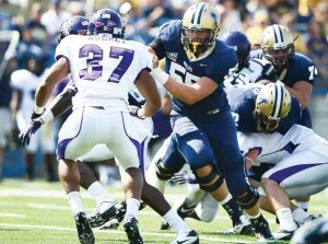 Montana State offensive tackle John Weidenaar played ever game since coming to Montana State