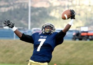 Fort Lewis College wide out Juquelle Thompson has good hands